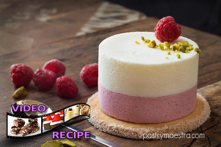 Greek Yogurt and Raspberry Semifreddo, Pastry Maestra